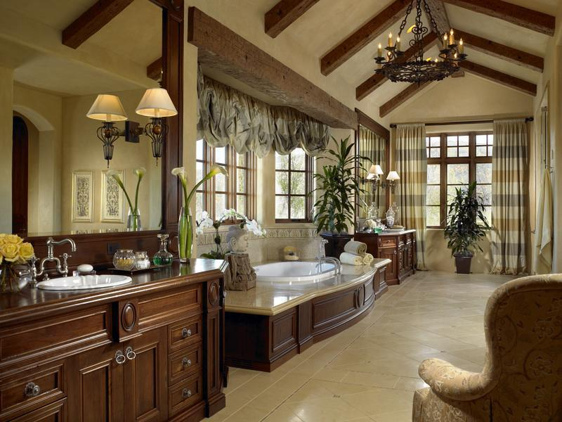 Beautiful Master Bathroom Ideas: Una Casa En Aspen, Colorado