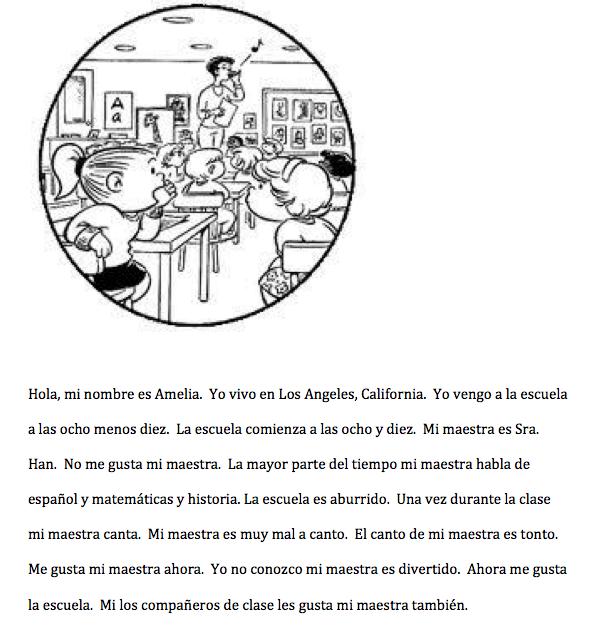 Miah F  | Spanish 2 Classroom Blog